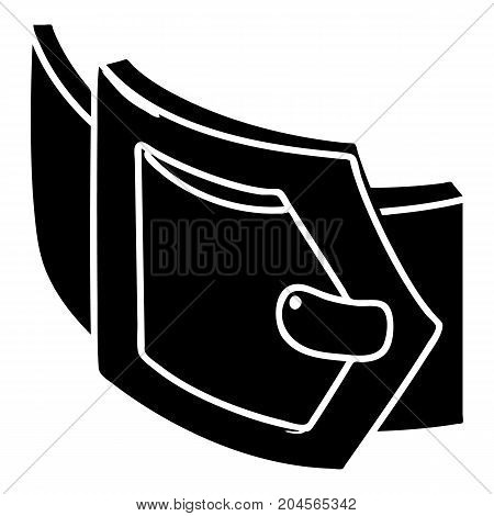 Woman belt icon. Simple illustration of woman belt vector icon for web design isolated on white background