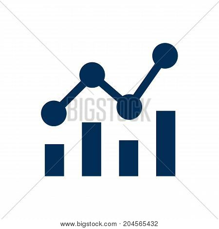Vector Statistics  Element In Trendy Style.  Isolated Campaign Icon Symbol On Clean Background.