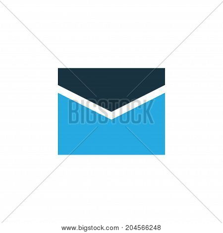 Premium Quality Isolated Letter Element In Trendy Style.  Mail Colorful Icon Symbol.