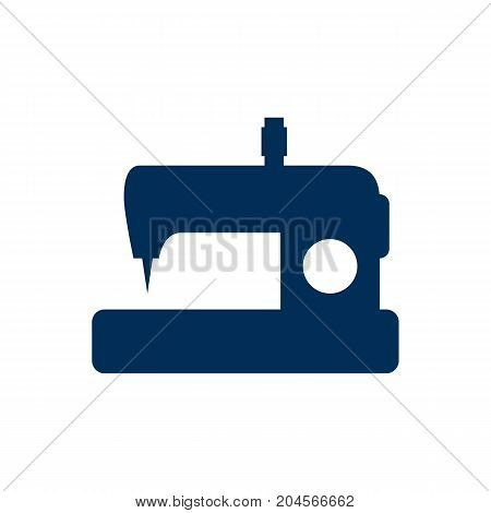 Vector Machine Element In Trendy Style.  Isolated Sewing Icon Symbol On Clean Background.