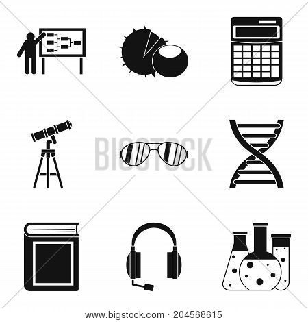 Doctrine icons set. Simple set of 9 doctrine vector icons for web isolated on white background