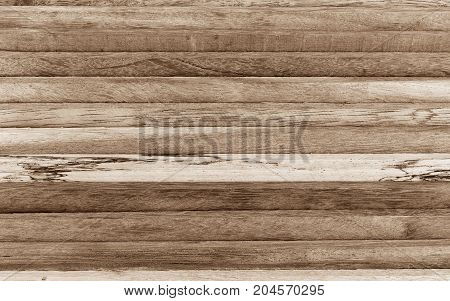 detail surface old  brown wood for background