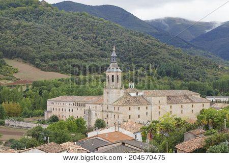 Monastery Of Yuso, In San Millan De La Cogolla, La Rioja, Spain.