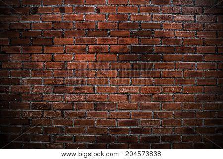 Brick wall vintage textured background, Brickwork vintage.