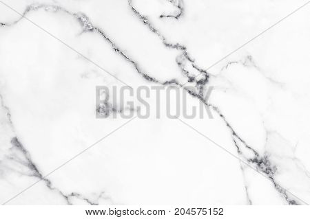 White marble texture and background for design pattern artwork.