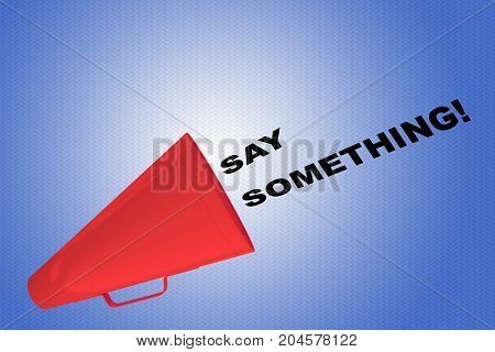 Say Something! Concept