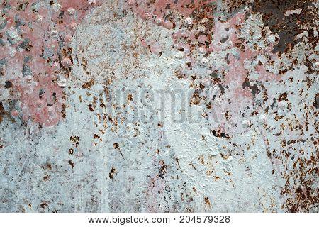 Aged metal sheet textured background,detail close up