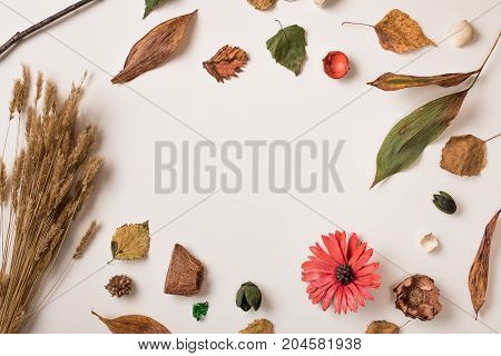Autumn Set With Space In Center