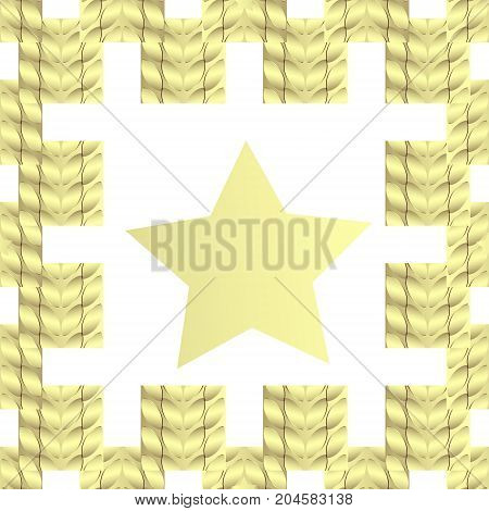 Creative patterned background in the form of square tiles (vector EPS 10)