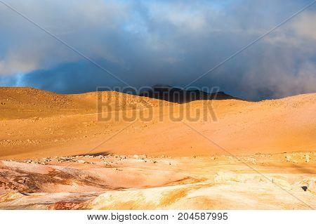 Sol De Manana, Altiplano, Bolivia
