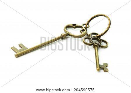 Two Antique Keys
