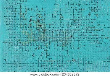 Grunge Blue Background Of Vintage Painted Surface
