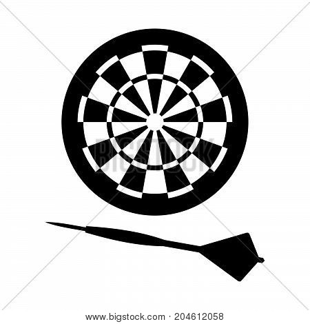 Equipment of darts ( shade picture )