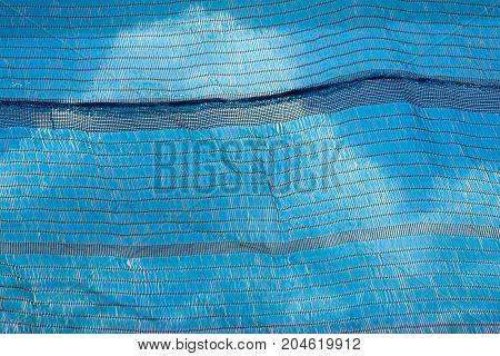 The Black Net And Blue Sky With Cloud