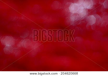 The Hard Red With White Hexagon Blurred  Background