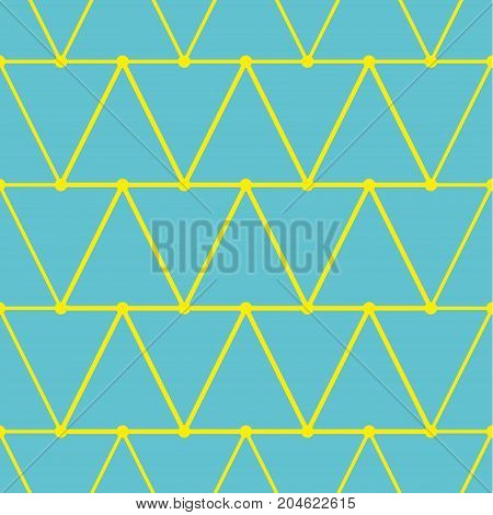 Vector seamless pattern with triangles. Modern stylish texture. Repeating geometric tiles. Hipster simple design with geometric shapes
