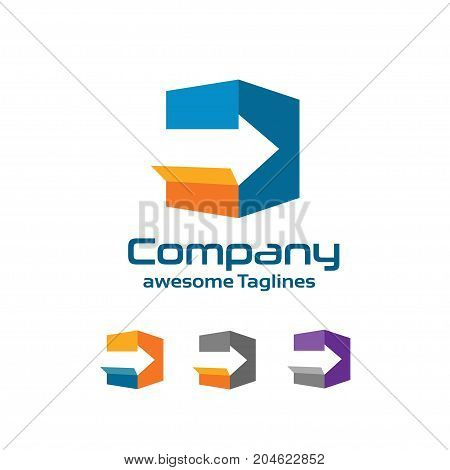 Fast delivery and export service vector illustration