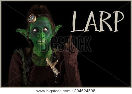 Green Goblin Is Offering The Word Larp