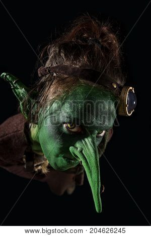 Angry Goblin Costume For The Halloween Or Carnival Season