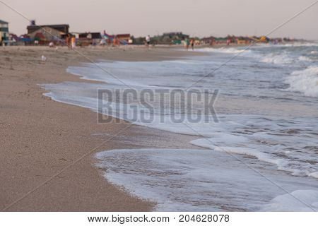 waves on the beach, shore, sea, vacation, vacation, vacation