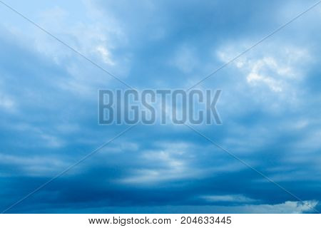 storm clouds dark before rain in the sky beautiful background with copy space add text