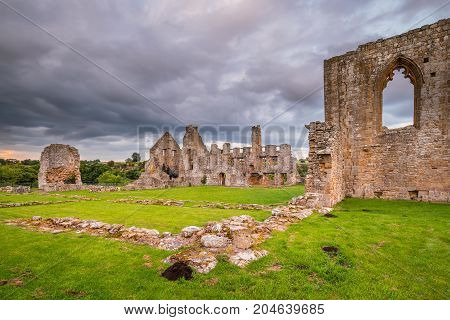 Remains of Egglestone Abbey, can be found on the banks of River Tees, near Barnard Castle in County Durham