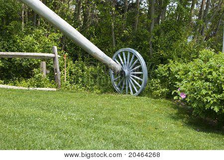 Old Windmill Wheel