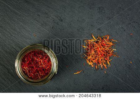 Moroccan (left) And Turkish (right) Saffron