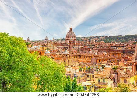 View City Rome Above, Hill Terrazza Image & Photo | Bigstock