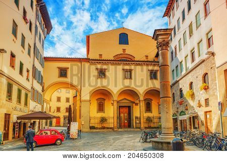 Florence, Italy- May 13, 2017:  Beautiful Landscape  Urbaflorence, Italy- May 14, 2017:  Beautiful L