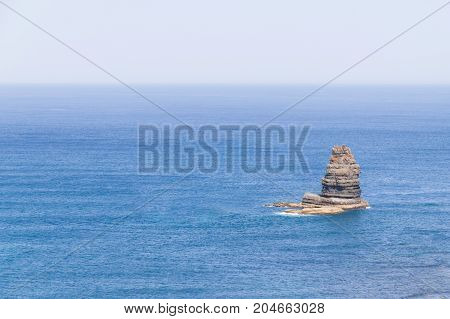 Cliff In The Ocean In Arrifana