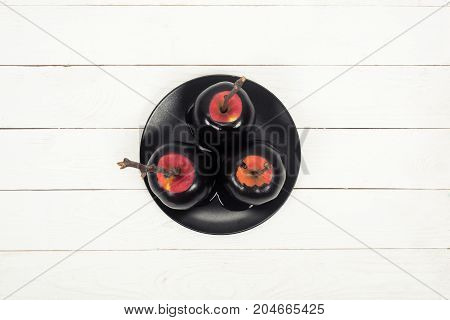 Halloween Apple Dessert