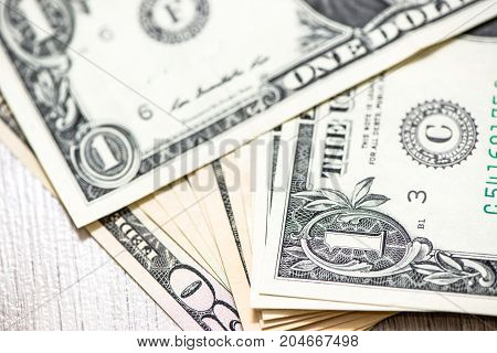 The background of US dollar the business finance concept