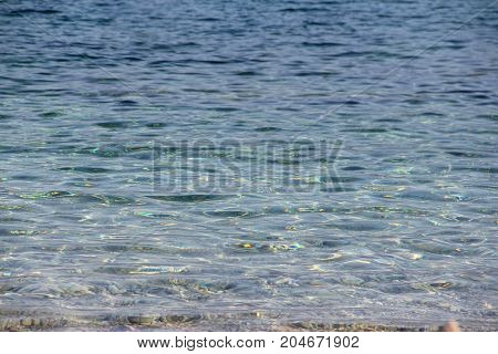 Sea Water Surface Background