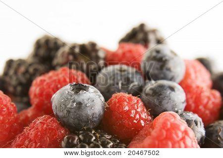 Bowl Of Fresh Berries