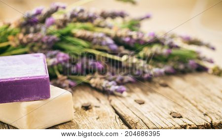 Fresh Lavender And Lavender Soaps