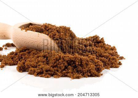 Brown Sugar On White