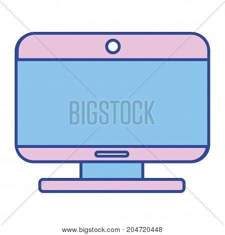 screen technology and moder equipment design vector illustrationn