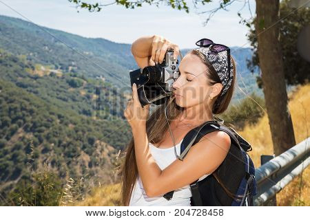The Girl The Traveler With The Camera