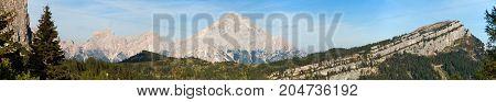 Monte Antelao South Tirol Dolomites mountains Italy
