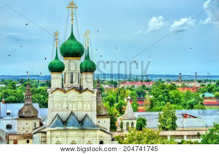 Church of John the Apostle at Rostov Kremlin, Yaroslavl oblast, the Golden Ring of Russia.
