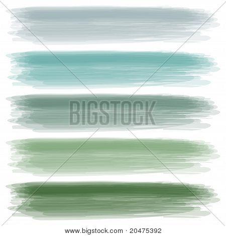 A set of colors