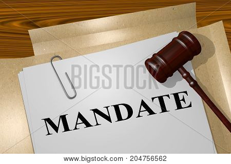 Mandate - Legal Concept