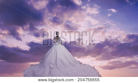 Wedding dress for blogs and Magazines and events