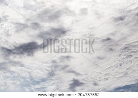 beautiful background of clouds in the sky