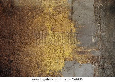 abstract of metal texture for background used