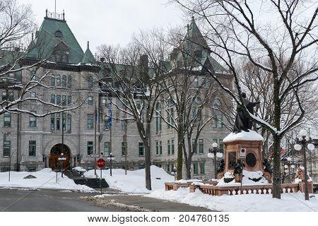 City Hall Of Quebec City, Quebec, Canada