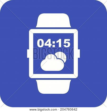 Lock, screen, watch icon vector image. Can also be used for Smart Watch. Suitable for mobile apps, web apps and print media.