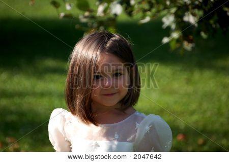 Flower Girl Close Up