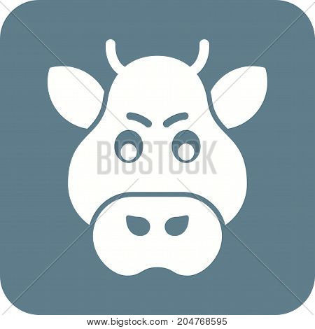 Boar, forest, animal icon vector image. Can also be used for Animals Faces. Suitable for mobile apps, web apps and print media.